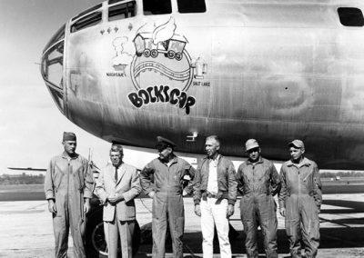 Bockscar, the Plane that Dropped Fat Man.