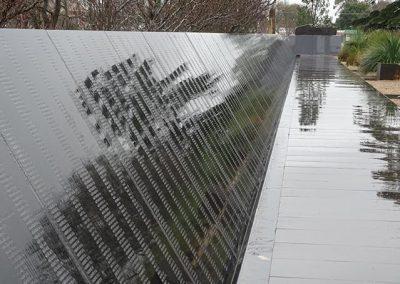 Eric's Name Listed at the POW Memorial, Ballarat 2.