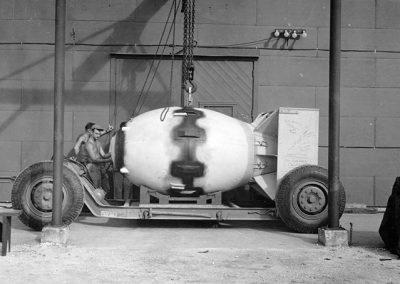 Fat Man Atomic Bomb.