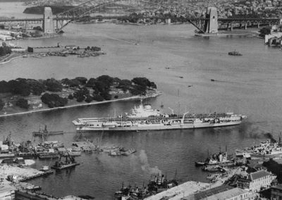 HMS Formidable Arriving in Sydney 2.