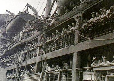 Pioneers Arriving in Java.