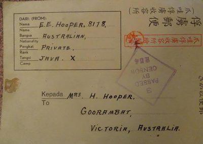 Postcard Sent Home.