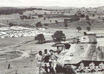 The Training Grounds at Puckapunyal.